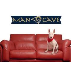 Los Angeles Rams Wall Decal Nfl Logo Vinyl Sport Design Man Cave Big Decor Cg947 Ebay