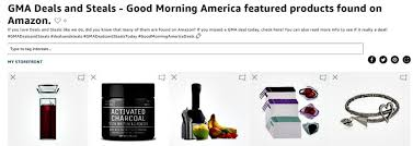deals and steals from good morning america