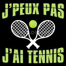 j'peux pas j'ai tennis. Humour fans de Tennis Polo Homme | Spreadshirt
