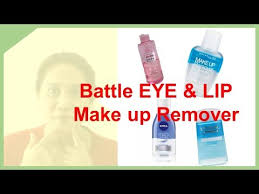 battle eye lip make up remover
