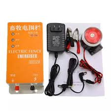 Alarm Design Solar Electric Fence Energizer Charger Animal High Voltage Pulse Power Supply Xsd 270a For Farm Lazada Ph
