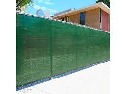 6 X 50 Fence Wind Privacy Screen Mesh Cover Tarp Green Set Of 2 100 Long Newegg Com