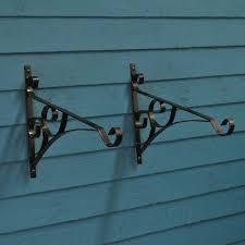 4 X Hanging Basket Bracket Fits Over Fence 27 95 Picclick Uk