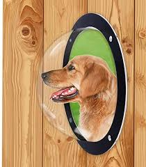 Amazon Com Jlxl Pack Pet Dog Fence Bubble Window Durable Acrylic Pet Sight Window Dome Insert Fence Clear Outside Landscape Viewer For Cats Dogs Pet Dog Gate Dog Door Jlxl