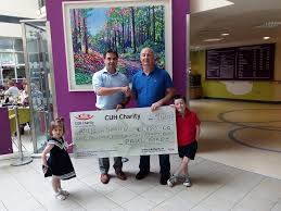 Paul Forde, Dell/EMC presented a cheque... - Cork University Hospital  Charity | Facebook