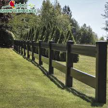 Uv Proof 2 Rails Black Pvc Vinyl Horse Farm Fencing China Pvc Horse Fence Pvc Fence Made In China Com