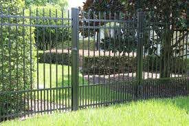 Best Aluminum Fence Panels For Pets Pet Fencing Tips Wrought Iron Pool Fence Aluminum Fence Backyard Fences