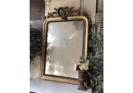 vintage french mirrors for brass