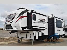 impact toy hauler fifth wheels for