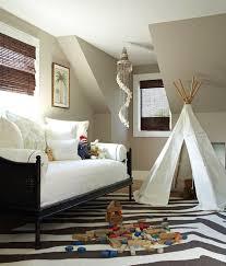 Zebra Rug Transitional Boy S Room Bella Mancini Design Cool Kids Rooms Attic Design Boy Room