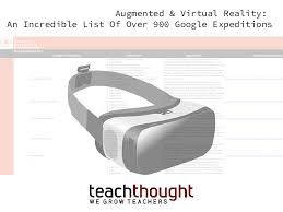 augmented and virtual reality an