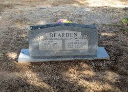 Mary Ada Rogers Bearden (1890-1966) - Find A Grave Memorial