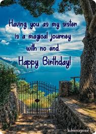 top happy birthday wishes for sister images
