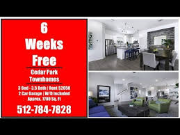 austin homes for 1st month free