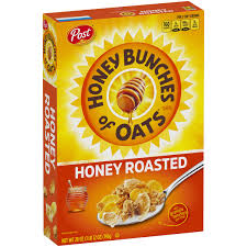 crunchy honey roasted cereal 28 oz