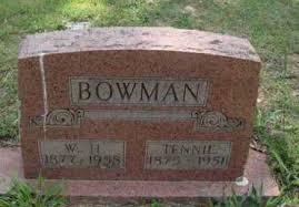 BOWMAN, W. H. - Baxter County, Arkansas | W. H. BOWMAN - Arkansas  Gravestone Photos