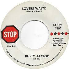 45cat - Dusty Taylor - Paint A Little Cloud With Sunshine / Lover's Waltz -  Stop [Nashville] - USA - ST 149
