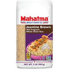 thai jasmine brown rice mahatma rice