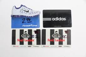 adidas footlocker and other gift cards