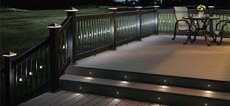 Low Voltage Deck Lights Fence Post Caps