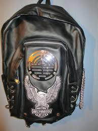 harley davidson backpack with built in