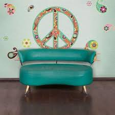 Teach Peace Wall Quote Decal