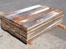 1x8x5 Reclaimed Redwood Boards Coffee Table Fence Boards Pallet Coffee Table