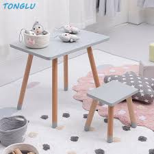 Learning Desk Kids Room Baby Play Writing Table And Chair Solid Wood Children S Desk And Chair Kids Furniture Dining Table Children Furniture Sets Aliexpress