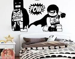 Batman Wall Stickers Etsy