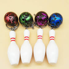 promotional gifts bowling keychain