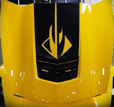 C7 Corvette Stingray 2014 Stinger Stripe Hood Decal Stingray Logo Corvette Mods