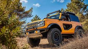 2021 Ford Bronco revealed with two-door ...