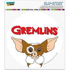 Amazon Com Gremlins Gizmo Logo Automotive Car Window Locker Circle Bumper Sticker Automotive
