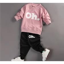 Shop bán Bộ quần áo bé gái dài tay in hình OH thời trang - BG01 ...