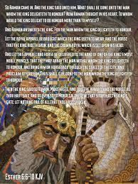 bible verses kjv on esther kjv and let this apparel