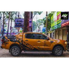 Ford Ranger Vinyl Graphic Decals Kit 007