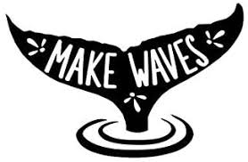 Amazon Com Make Waves Whale Tail Decal Vinyl Sticker Cars Trucks Vans Walls Laptop Black 5 5 X 3 6 In Duc1075 Arts Crafts Sewing