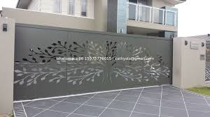 Powder Coating Aluminum Screen Panels For Garden Fence Privacy Fence Metal Fence