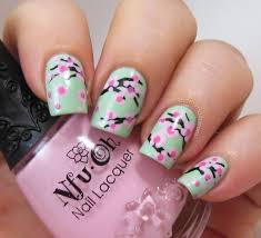 30 best spring fl nail art ideas