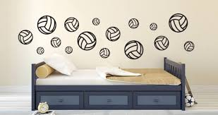 Volleyball Wall Decals Dezign With A Z