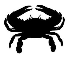 Maryland Crab Car Decal Laptop Decal Cup Decal Etsy