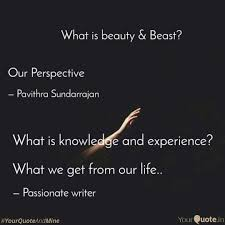 what is knowledge and exp quotes writings by poornima nehru