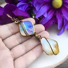 for xl opalite citrine crystal