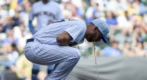 Brewers' Pitcher Adrian Houser Vomits On The Mound [VIDEO] | 97.1 ...