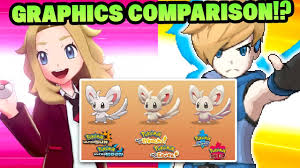 NEW Pokemon Sword and Pokemon Shield Graphic Comparison With ...