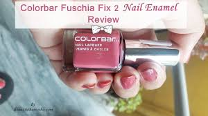 colorbar fuschia fix 2 nail enamel