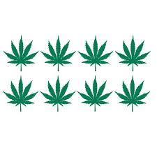 Marijuana Crown Decals