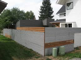 Modern Wood Metal Fence Designs Top 60 Best Modern Fence Ideas Contemporary Outdoor Designs Woodsinfo