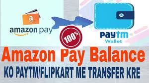 transfer amazon pay balance to paytm