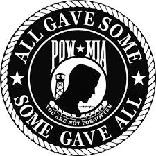 Pow Mia You Are Not Forgotten Window Decal